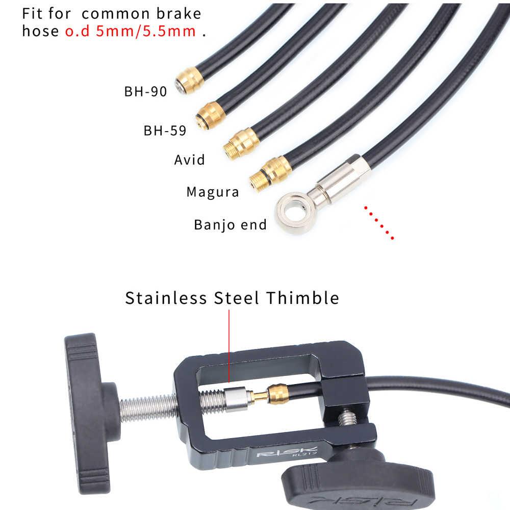 Multifunction Bicycle Repair Tool Hydraulic Disc Brake Hose Oli ConnectorI BRPF