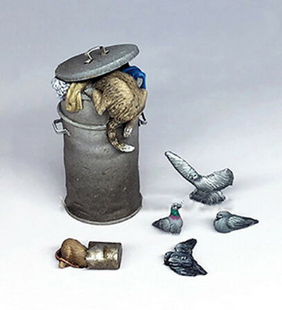 1/35 Modern Animals Set Accessories    Resin Figure Model Kits Miniature Gk Unassembly Unpainted