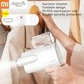 Xiaomi dampf bügeln maschine tragbare Garment Steamer klapp tragbare haushalts dampf eisen kleidung dampfer bügeln falten 5-in Elektrische Bügeleisen aus Haushaltsgeräte bei
