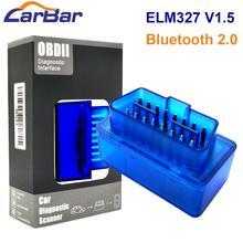 OBD2 Диагностический ELM327 OBD2 Bluetooth V1.5 автомобильный диагностический инструмент Автоматическое сканирование адаптер для Android OS и Android автомобильный DVD gps плеер