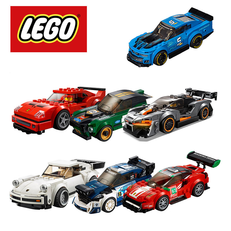 2019 Lego Speed Champions McLaren Senna 75892 Building Kit (219 Piece) Lego Ninjago Duplo Building Blocks DIY Educational Toys