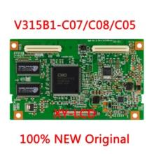 Placa lógica para V315B1 C07, V315B1 C05, V315B1 C08, LED, LCD, TV, T CON, para V315B1 L07, V315B1 L05, prueba de pantalla, OK