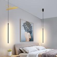 מודרני LED תליון אורות מושעה נורדי לופט עמעום תליון מנורת המיטה מנורת Hanglamp מטבח אור גופי