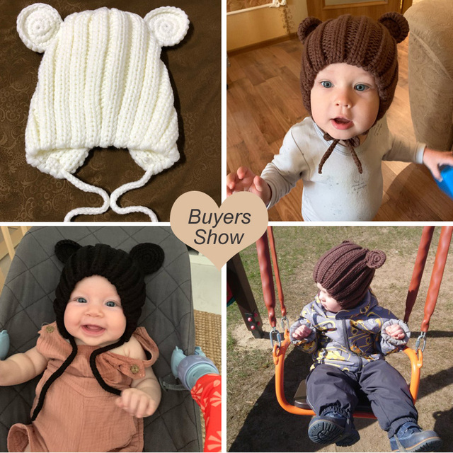 Baby's Winter Hat with Ears 6
