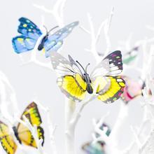 6 шт ПВХ бабочка орнамент декоративный открытый сад shrup вечерние фестиваль Декор