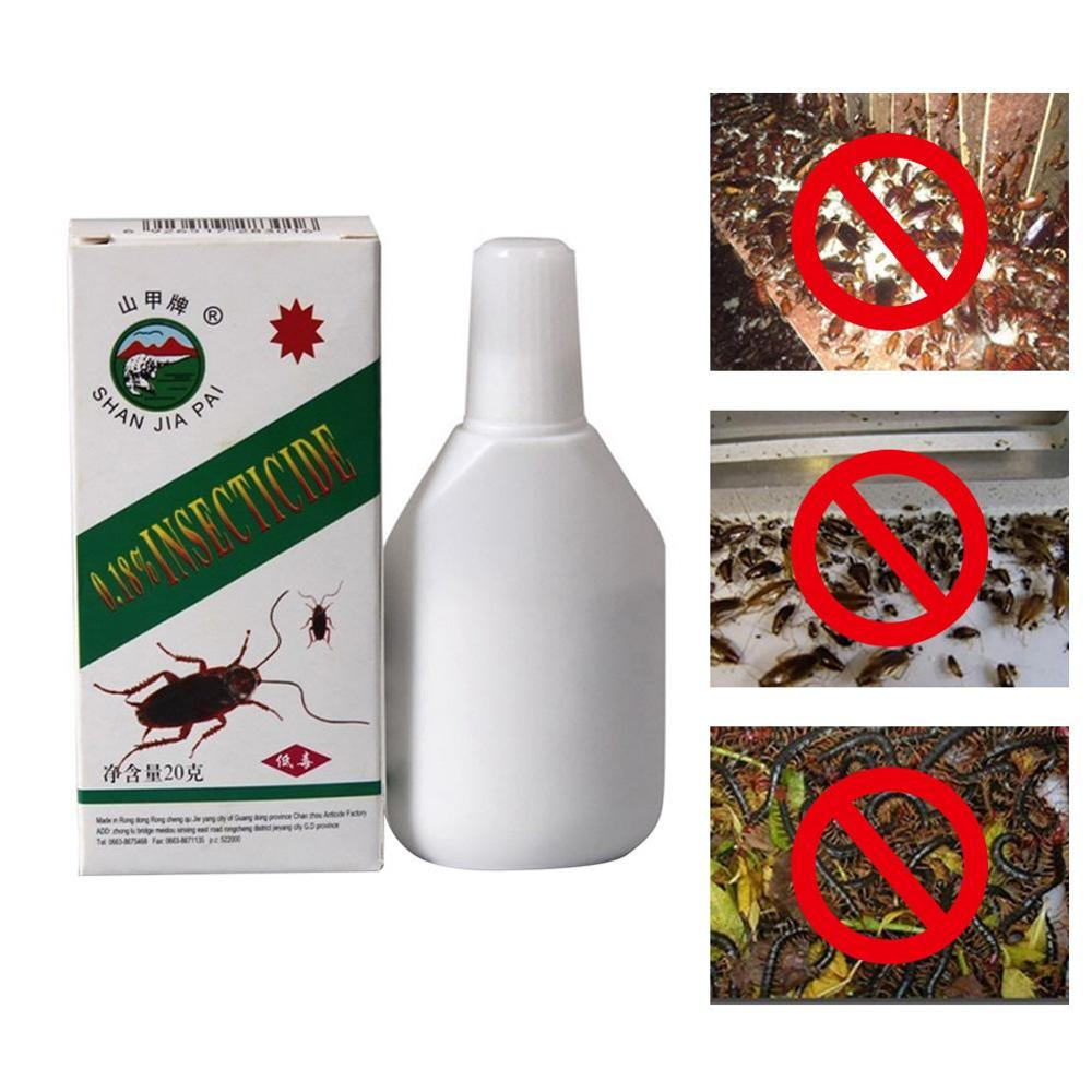 1pc Insecticide Cockroach Bug Killer Powder Microtoxic Killing Ant Spider Scorpion Bait Repellent Poison For Cockroaches Killer