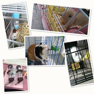 Image 5 - 80 мл 150 мл 250 мл продукт ПЭТ пластиковая Питьевая Бутылка Фидер хомяк кролик вода подвесная бутылка распылитель для воды