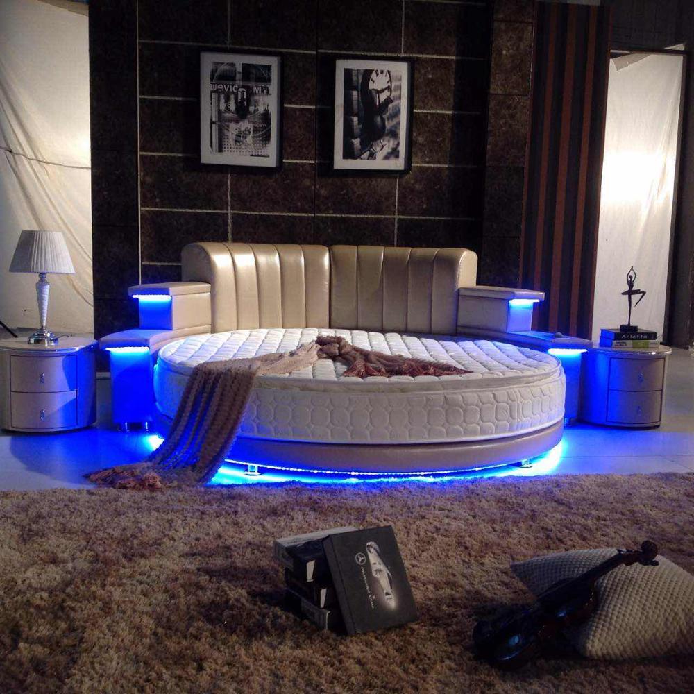 beds multifunctional modern bedroom furniture round