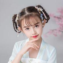Заколка для волос в китайском стиле с бабочкой и кисточкой