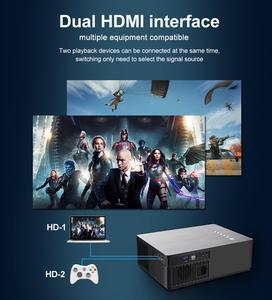 Image 4 - Vivicine 2020 M20 новейший 1080p домашний кинотеатр проектор, опция Android 9,0 1920x1080 Full HD светодиодный мультимедийный видеопроектор проектор