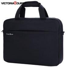 Деловая сумка victoriatourist для мужчин и женщин стильный универсальный