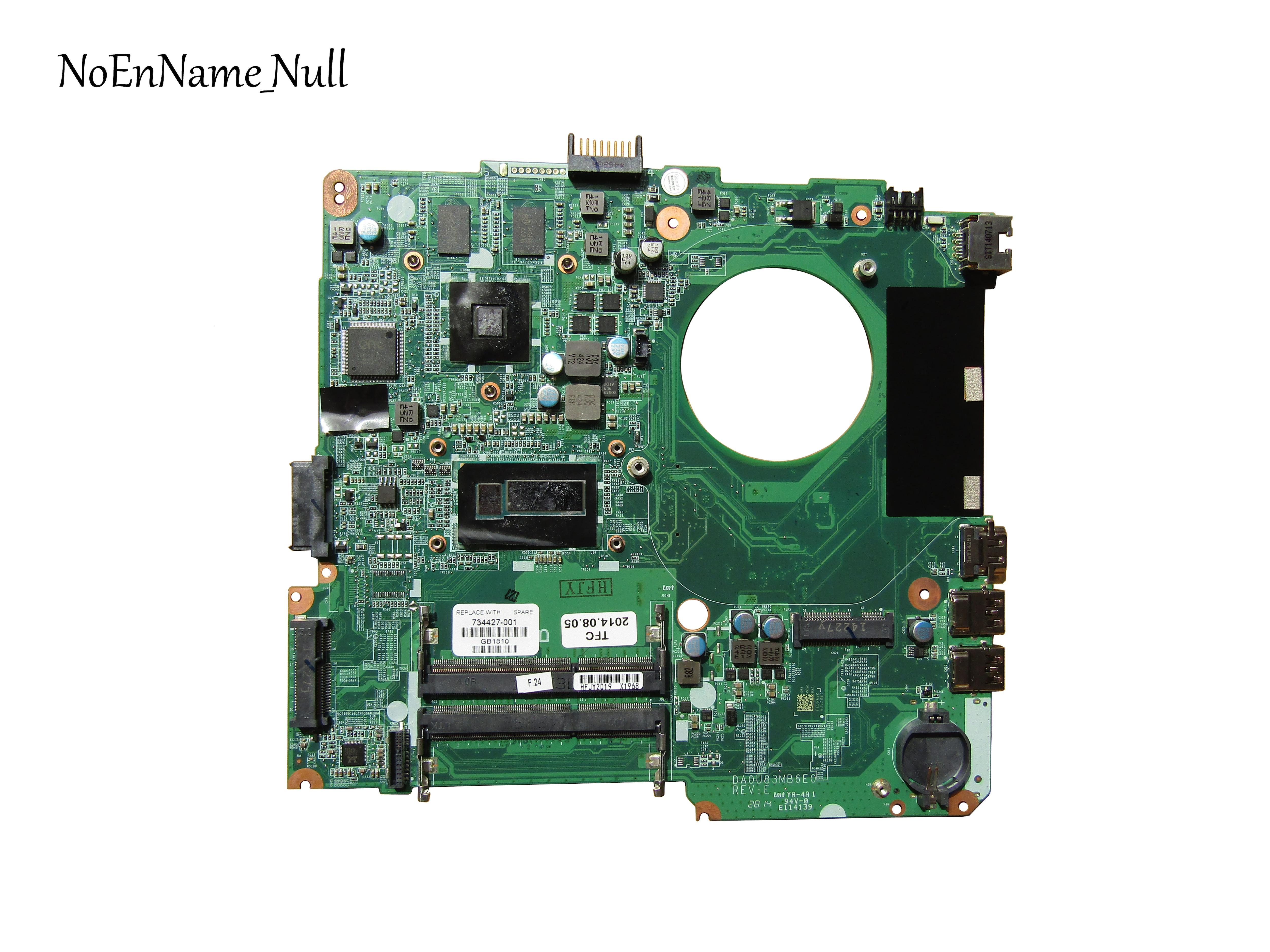HP 14 14-N laptop motherboard A6-5200 DA0U93MB6D0 734444-501 100/% tested ok