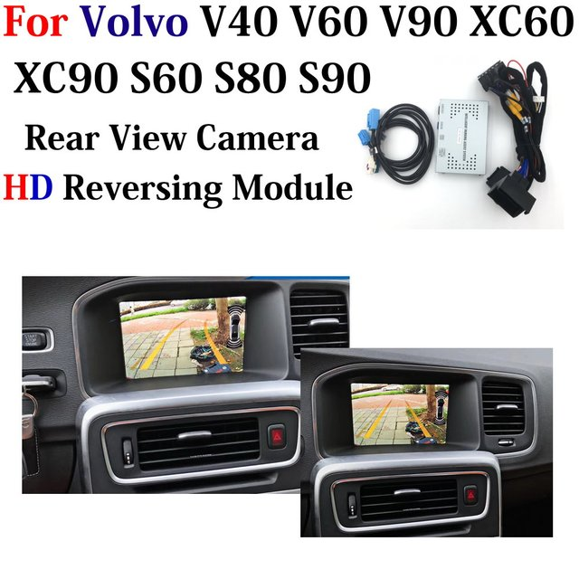 HD Backup Parking Camera For Volvo V40 V60 V90 XC60 XC90 S60 S80 S90 2010 2020 Reverse Camera Improve Park Assist Accessories