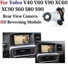 HDกล้องที่จอดรถสำรองสำหรับVolvo V40 V60 V90 XC60 XC90 S60 S80 S90 2010 2020ย้อนกลับกล้องปรับปรุงpark Assistอุปกรณ์เสริม