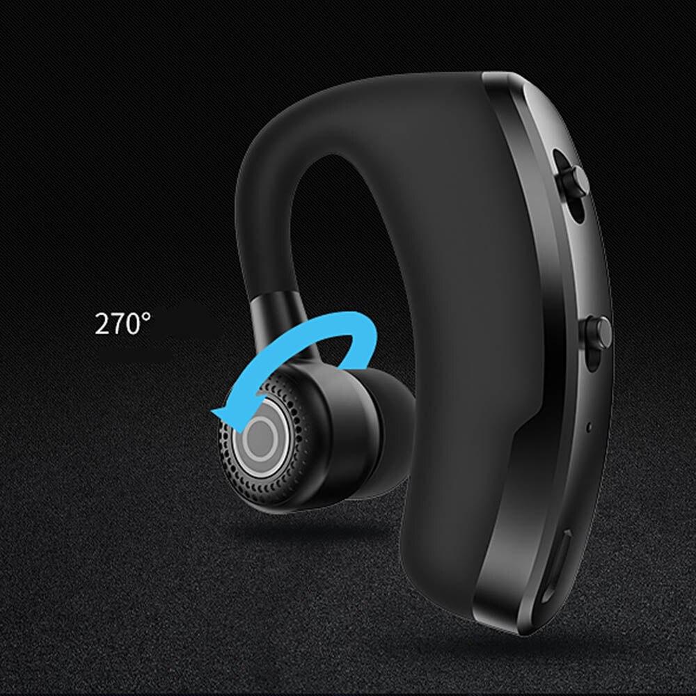 V9 earphones Bluetooth headphones Handsfree wireless headset Business headset Drive Call Sports earphones for iphone Samsung 4