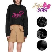 Jojo siwa cute girls fashion hoodies women female sweatshirts