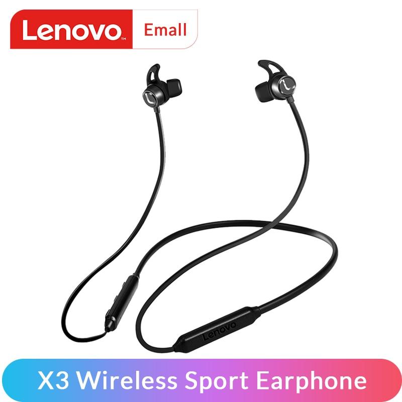 Lenovo Earphone Hands-Free Xiaomi 3d-Surround BT5.0 Waterproof Sport-In-Ear Wireless