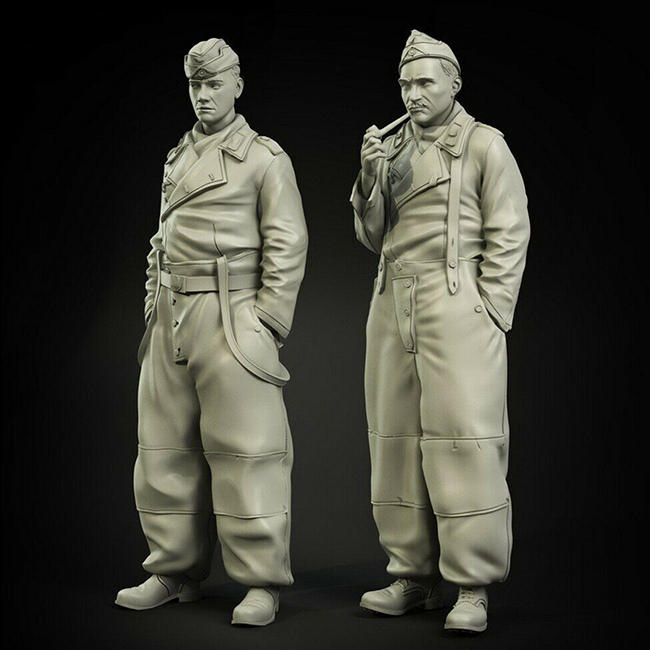1/35  Ancient Winter Trousers Set   Include 2 Resin Figure Model Kits Miniature Gk Unassembly Unpainted