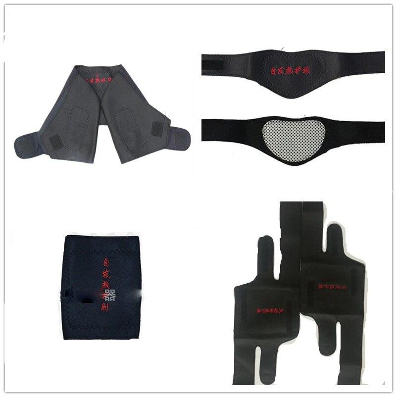 1Pairs/1PCS Tourmaline Self-heating Neck Brace Pad Magnetic Therapy Tourmaline Belt Support Spontaneous Heating Neck braces