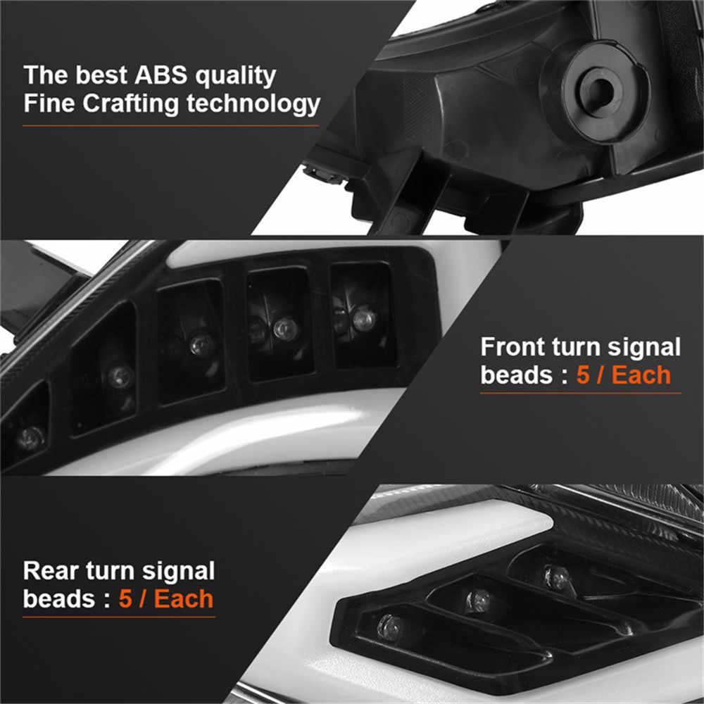 KEMiMOTO pour Tmax 530 Led lumières avant arrière feu stop arrière Led clignotants indicateurs feu arrière pour YAMAHA Tmax 530 2012-2016