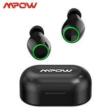 Mpow T6 Aktualisiert TWS Drahtlose Bluetooth 5,0 Kopfhörer ipx7 Wasserdichte 40h Spielen Zeit Für iPhone 11 Xs Xr Huawei samsung S10 S9