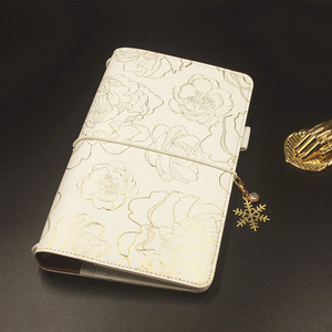 Image 1 - Cuaderno de viajero Lovedoki 2019 tamaño estándar estampado en caliente cubierta Personal planificador diario regalo papelería tienda útiles escolares
