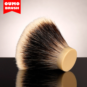 Image 5 - Pompa fırça FAN SHD mançurya finest iki bant tıraş fırçası knot