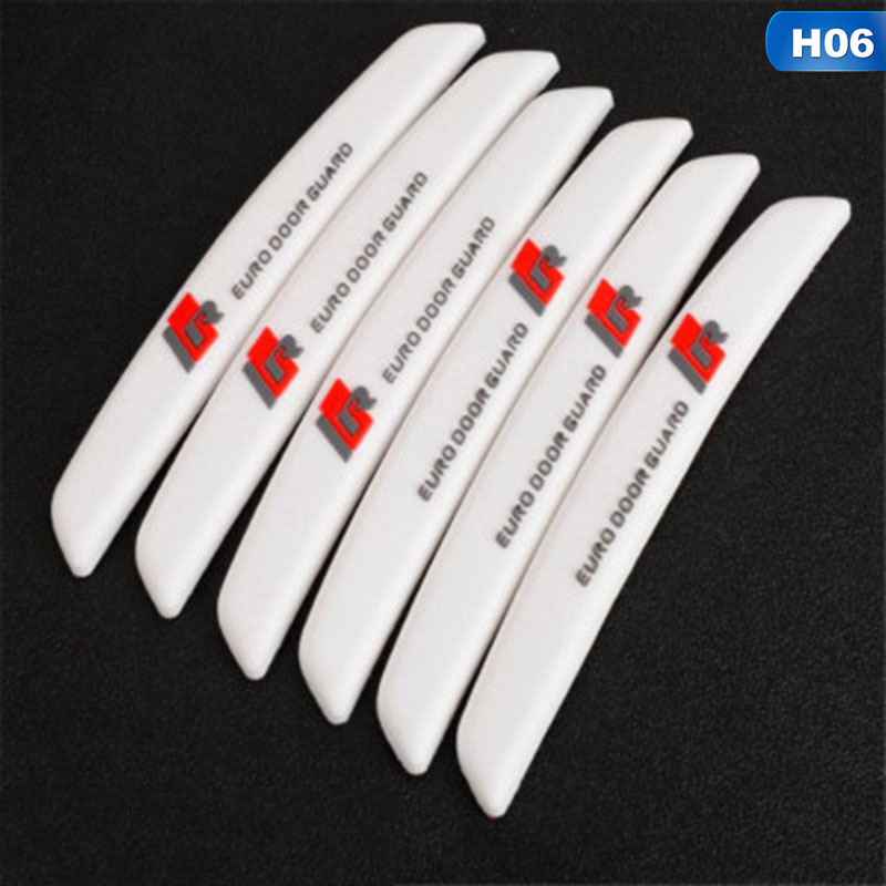 Image 5 - 6Pcs/Set Auto Car Door Guard Edge Corner Protector Guards Buffer Trim Molding Protection Strip Scratch Protector Car Door Crash-in Styling Mouldings from Automobiles & Motorcycles