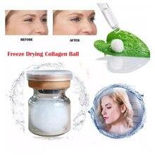 Japão puro colágeno bola proteína de seda natural anti envelhecimento essência endurecimento rugas remoção soro facial cosméticos coreanos