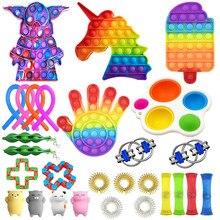 Pack de jouets Antistress pour enfants et adultes, soulagement de l'autisme, de l'anxiété et des bulles