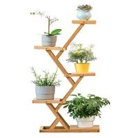 Indoor Balcony Landing Type A Living Room Green Luo Flowerpot Shelf Group Close Northern Europe Light Extravagant Chlorophytum|Plant Shelves| |  -