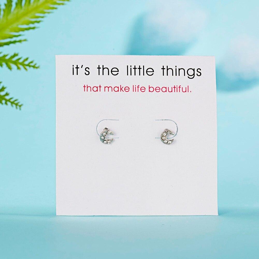 12 Pairs/set Stud Earrings Set With Card Transparent Zircon Balls Love Flowers Earrings Women Imulated Pearl Earrings Jewelry 80