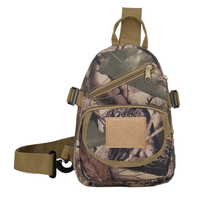 Men Women Outdoor Tactical Chest Bag Camouflage Package Diagonal Bagcamping Waterproof Fishing Climbing Army Shoulder Bags