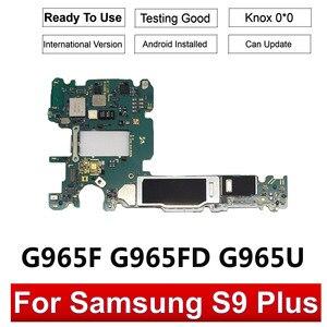 Image 2 - BINYEAE 64GB 128GB Scheda Madre Sbloccato Per Samsung Galaxy S9 G960F G960FD G960U S9 PIÙ G965F G965FD Mainboard Pulito IMEI
