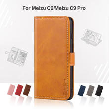 Flip Cover For Meizu C9 Business Case Le