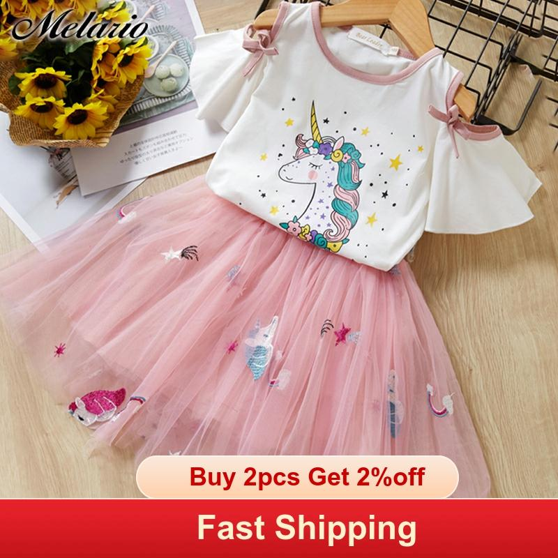 Casual Kids Dress for Girls Summer Baby Girl Princess Dresses Party Costume vestido Cartoon title=