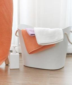 Image 5 - Serviette antibactérienne originale Youpin ZSH Polyegiene Young Series 100% coton 5 couleurs très absorbant bain visage petite serviette