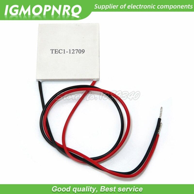 SXDOOL Cooling TEC Peltier Module TEC1-12709 Thermoelectric Cooler Qcmax 85.9W 40x40x3.8mm