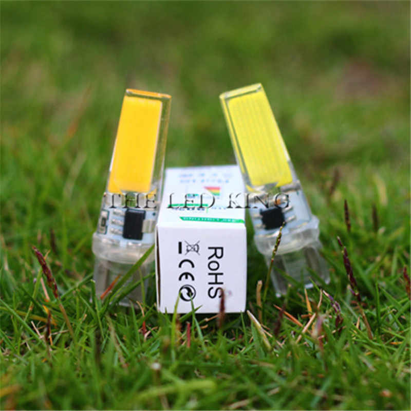 Dimmable LED Mini Jagung Bulb G4 G8 G9 E11 E12 E14 COB Ampul LED Diode Lampu Gantung Lampu Sorot Lumen Tinggi Tidak Ada flicker 3000K 6000K