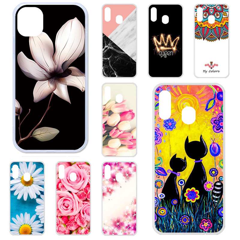 Case For Samsung Galaxy A30 Case Silicone On The For Samsung A30 a20 a 20 A 30 2019 A305 A305F SM-A305F GalaxyA30 Cover Bumper