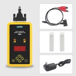 Image 5 - AUTOOL CT60 אוטומטי דלק Injector בוחן דלק מזרק זרבובית שטיפה Tester להגדיל CT150 CT200 דופק ניקוי בודק לחץ