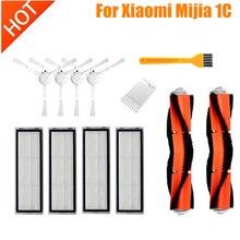Ana fırça yan fırça filtreleri paspas bezi için Xiaomi Mijia 1C STYTJ01ZHM xiaomi DREAME F9 Robot süpürge parçaları aksesuarları
