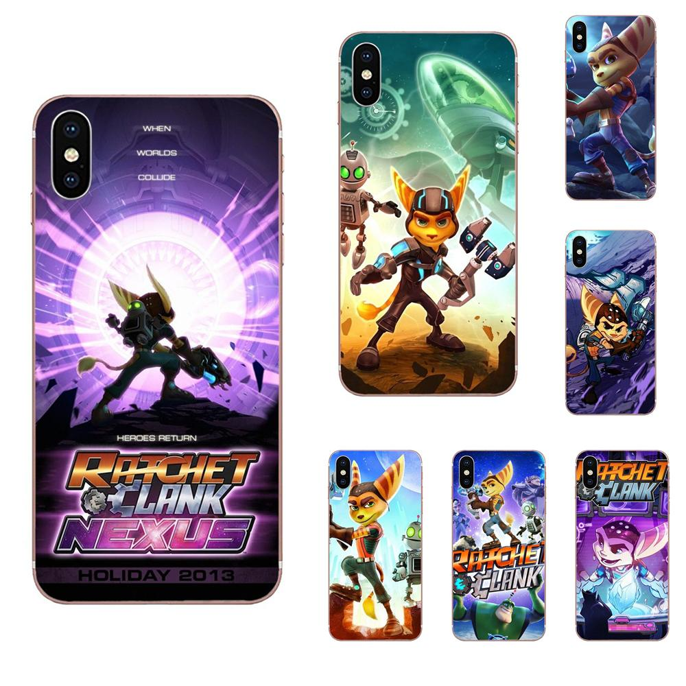 Soft TPU Non-slip Game Ratchet And Clank For LG G2 G3 G4 G5 G6 G7 K4 K7 K8 K10 K12 K40 Mini Plus Stylus ThinQ 2016 2017 2018 image