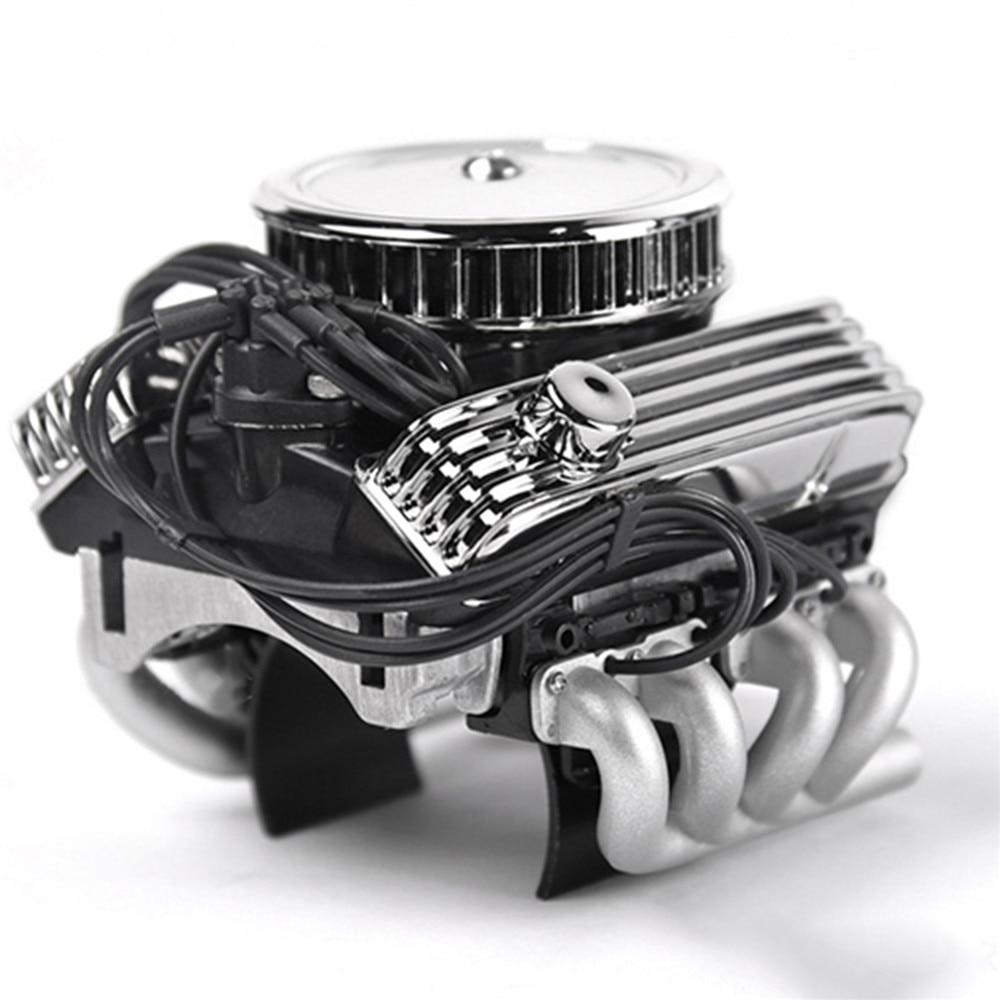 Simuler moteur V8 Refroidissement Réservoir d/'eau pour 1//10 TRAXXAS TRX-4 JEEP WRANGLER voiture