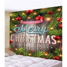Гобелен настенный мультфильм искусство дом 3d Рождество стены