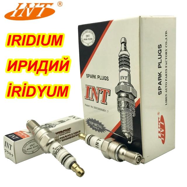 Int Iridium Bougie EHIX CR9 9 2 Stks/partij Voor CR9EHIX 9 CR9EH 9 IUH27 U27FERZ U9 XS4302 CR8EHIX 9 CR8EH 9 IUH24 Bujia CBR400