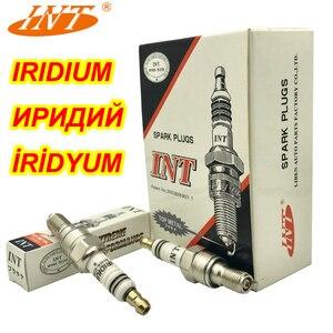 Plugue de faísca do IRÍDIO INT EHIX-CR9-9 2 pçs/lote PARA CR9EHIX-9 CR9EH-9 IUH27 U27FERZ-U9 XS4302 CR8EHIX-9 CR8EH-9 IUH24 BUJIA CBR400