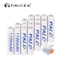 2-16 piezas AAA 1100mAh NI-MH batería recargable AAA 3A ni mh nimh 1,2 V 1,2 voltios original baterías de corriente de alta capacidad
