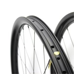 Image 5 - ELITE Carbon Wheels Carbon Mtb Wheels 29 Novatec D411 Straight Pull Hub Carbon Wheelset 29er Mtb Wheels 30mm Width Bicycle Wheel
