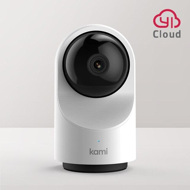 كامي كامل HD واي فاي كاميرا أمن داخلي ، 1080P كاميرا مراقبة أي بي تتبع الحركة نظام مراقبة المنزل وضع الخصوصية 6 أشهر سحابة مجانية